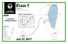 Cedar City Utah Map by Stage 1