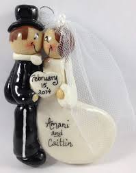 personalized ornaments wedding best personalized wedding christmas ornaments photos styles