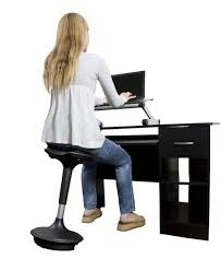 stand up desk leaning stool standing desk office chairs metal