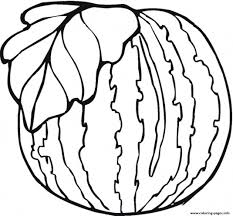 healthy watermelon fruit sd5b3 coloring pages printable