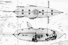 submarine history 1580 1869 the first submarines