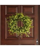 check out these bargains on faux cotton wreath