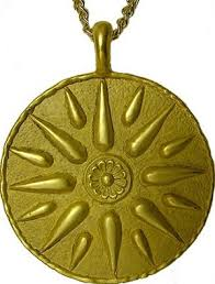 macedonian of the great royal symbol necklace