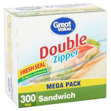 halloween sandwich bags great value double zipper sandwich bags mega pack 300 count