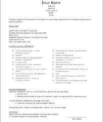 no experience resume sle resume for nurses with no experience sle of comprehensive