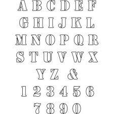 9 best letters images on pinterest printable letter stencils