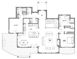 Centralized Floor Plan by A Family Retreat On Canandaigua Lake Designing Spaces The