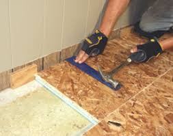 Basement Floor Insulation Diy Steps For Installing A Insulated Basement Floor How To