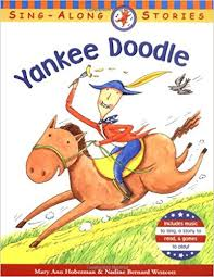 Amazon Com Yankee Doodle Sing Along Stories 9780316145510 Yankee Doodle Coloring Page 2