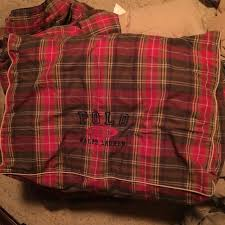 ralph lauren king down comforter find more polo ralph lauren full queen plaid down comforter