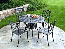 Iron Outdoor Patio Furniture Wrought Iron Outdoor Chairs Aciarreview Info