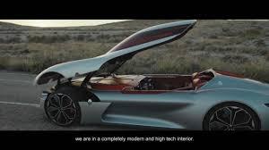 renault dezir concept interior renault trezor concept