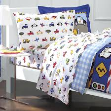 blue twin bedding toddler boy twin bedding sets dream factory trucks tractors cars