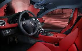 mercedes mclaren red mercedes benz slr mclaren interior gallery moibibiki 10