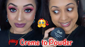 review tutorial makeup sehari hari review demo sleek makeup creme to powder foundation beautician