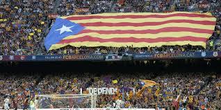 Estelada Flag Reports We Love Barça