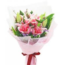 stargazer bouquet stargazer lilies 01 send flowers to oas albay