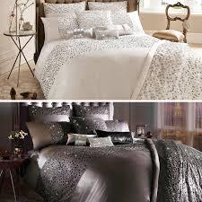 kylie minogue at home eva luxury sequin satin cotton duvet quilt