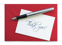 thank you notes handwritten thank you note after an necessary or passé