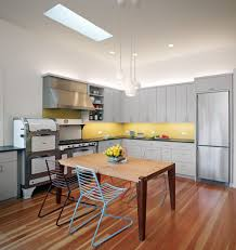 vintage 1940 s kitchen contemporary with under cabinet lighting
