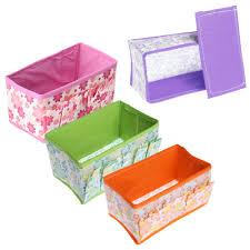 aliexpress com buy folding cosmetic storage box cloth home make
