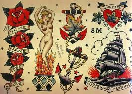 sailor jerry fake tattoos sailor jerry temporary tattoos by easytatt