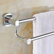 bathroom accessories towel rack brass double towel bar european