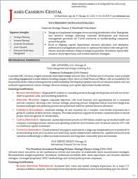Best Finance Resume by Job Search Strategies Executive Resume Services Part 2