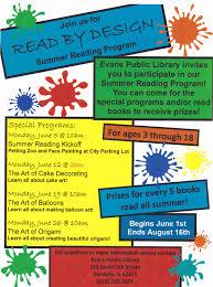 Mcdonalds Invitation Card Summer Reading Program Evans Public Library District