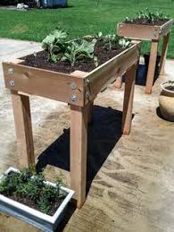 Raised Planter Beds by Diy Raised Bed Planter Cedar Posts Planters And Raising