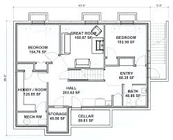 large bungalow house plans house plans with finished walkout basement 4ingo