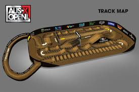 aus x open reveals unique event track design motoonline com au
