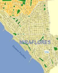 Map In Spanish Map Of Miraflores Lima Find Our Spanish Easily