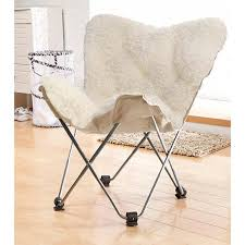 White Fluffy Chair Cheap Butterfly Chair Black Find Butterfly Chair Black Deals On