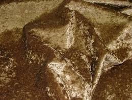 Crushed Velvet Fabric For Curtains Bling Crushed Velvet In Mink Fabric Ideal For Curtain Upholstery