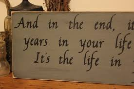 wooden signs decor abraham lincoln quote in your years wood sign home decor