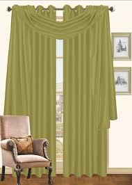 amazon com kashi home sp023116 holly window scarf black home