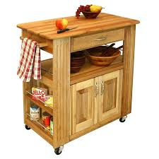 portable kitchen island awesome brown wood and metal kitchen cart