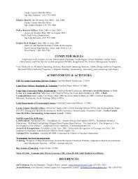Deputy Sheriff Job Description Resume by Travis Robson Resume 2015
