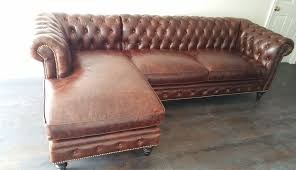 Chenille Chesterfield Sofa by Sofas