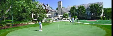 Backyard Golf Course by Tour Greens Backyard Putting Green Reviews U0026 Testimonials