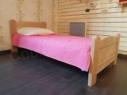 chambre enfant bois massif lit enfant artisanal écologique ethan en bois massif