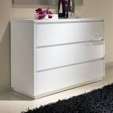 commode chambre blanc laqué commode blanc laqué pas cher collection avec commode adulte design