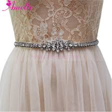 wedding dress belts 2017 bridal sash belts women s rhinestone wedding dress belt