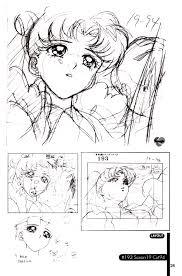 image usagi episode 193 sketch 2 jpg sailor moon wiki fandom
