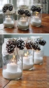 bocaux decoration cuisine déco noel avec des bocaux en verre 20 idées tutoriel