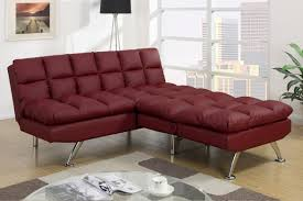 Cheap Leather Sofa Beds Uk by Red Leather Twin Size Sofa Bed Steal A Sofa Furniture Outlet Los