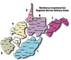 Virginia Regions Map by Calhoun Maps Wirt Maps West Virginia Maps Appalachian Region Maps