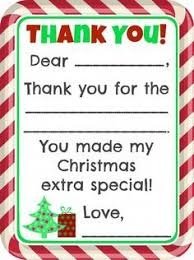 fill in the blank thank you note free printable free printable