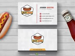 free dog fast food business card template download psddaddy com